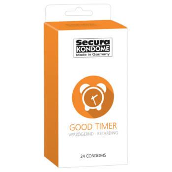 Secura Good Timer - ejakuláció késleltető óvszerek (24db)