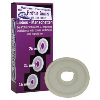 Orvosi péniszgyűrű - áttetsző (2,1cm)