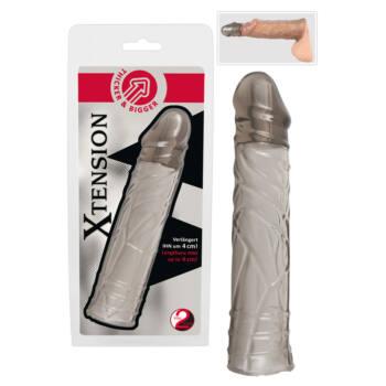 Xtension péniszköpeny (füst színű)