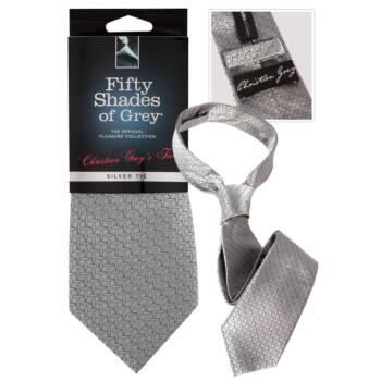 A Szürke Ötven Árnyalata - Christian Grey nyakkendője (ezüst)