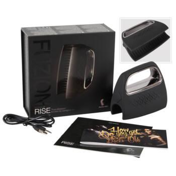 Fuzion Rise - akkus, kézi maszturbátor (fekete)