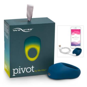 We-Vibe Pivot - akkus, vibráló péniszgyűrű (éjkék)