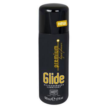 HOT Premium Glide - szilikonos síkosító (50ml)