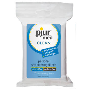 Pjur med Clean tisztítókendő (25db)