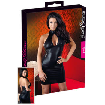 Cottelli - Divatos, csillogó ruha (fekete)
