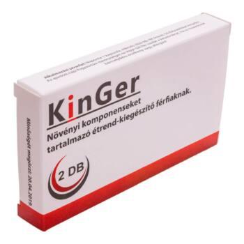 KinGer - étrendkiegészítő kapszula férfiaknak (2db)