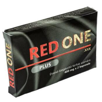 Red One Plus 400 - étrendkiegészítő kapszula (2db)