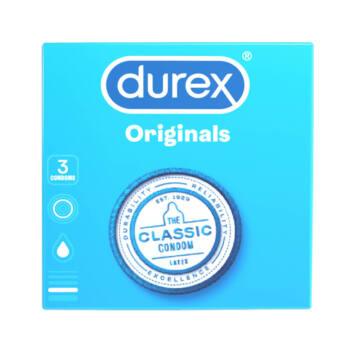 Durex klasszikus óvszer (3db)