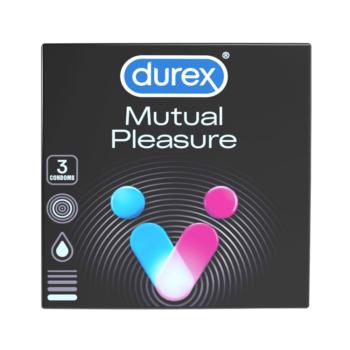 Durex Mutual Pleasure - óvszer (3db)