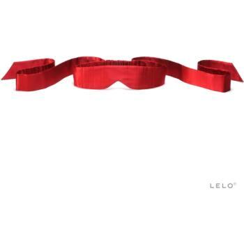 LELO selyem szemtakaró (piros)