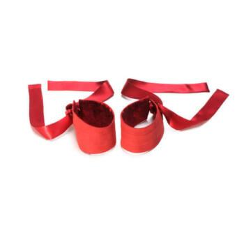 LELO Ethrea selyem mandzsetta - 1 pár (piros)