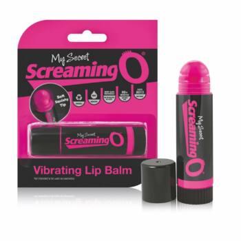 Screaming Lip Balm - rúzs vibátor (fekete-pink)
