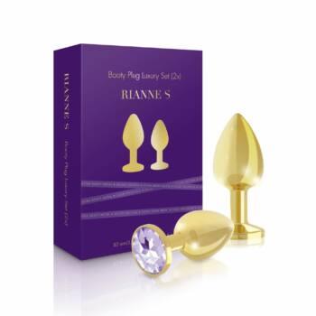 Rianne - 2 részes luxus análszett (arany)