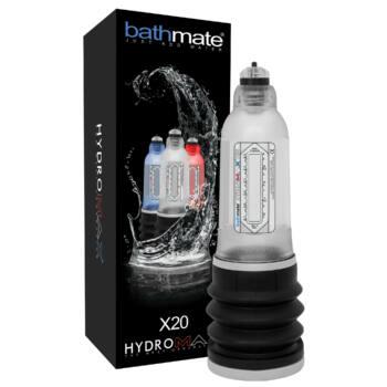 BathMate Hydromax X20 - hydropumpa (áttetsző)