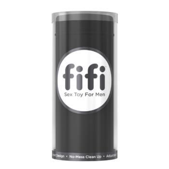 FIFI - maszturbátor eldobható mandzsettával (fekete)