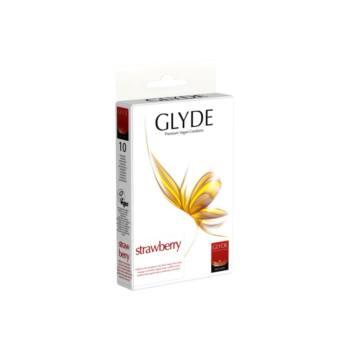 GLYDE vegán óvszer - Eper (10db)