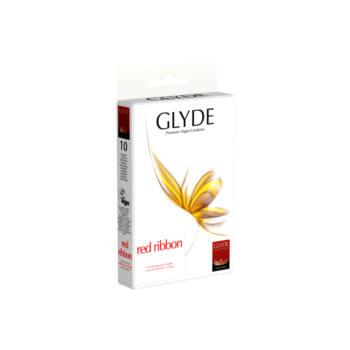 GLYDE vegán óvszer - Piros (10db)