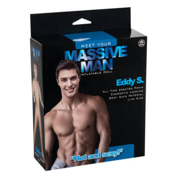 Massive Man - Eddy S. gumiférfi (sérült csomagolás)