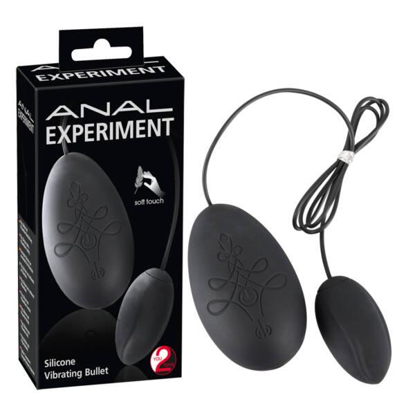 Experiment - Anál vibrotojás (fekete)